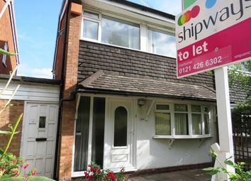 Thumbnail 3 bed property to rent in Northfield Road, Harborne, Birmingham
