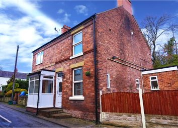 Thumbnail 2 bed end terrace house for sale in Temperance Road, Wrexham