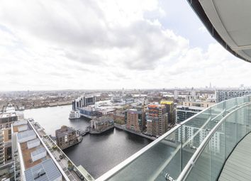 Thumbnail 1 bed flat to rent in Arena Tower, 25 Crossharbour Plaza, Canary Wharf, London