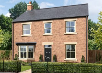 Thumbnail 4 bed detached house for sale in Greysfield, Backworth Park, Newcastle Upon Tyne