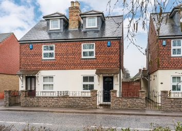 Thumbnail 3 bed semi-detached house for sale in London Road, Dunton Green, Sevenoaks
