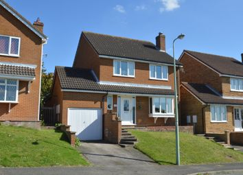 Thumbnail 4 bed detached house for sale in Roman Way, Haverhill