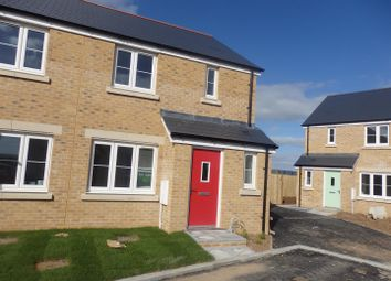 Thumbnail 3 bed semi-detached house for sale in Ynys Y Mor, Machynys, Llanelli