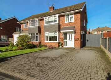 Thumbnail 3 bed semi-detached house for sale in Canberra Road, Bramhall, Stockport