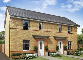 """Thumbnail 2 bed semi-detached house for sale in """"Amber"""" at Woodcock Square, Mickleover, Derby"""