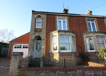 Thumbnail 3 bed semi-detached house for sale in London Road, Halesworth