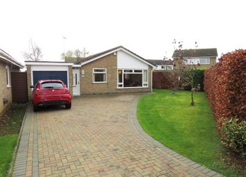Thumbnail 3 bed detached bungalow for sale in Bradwell Road, Longthorpe, Peterborough