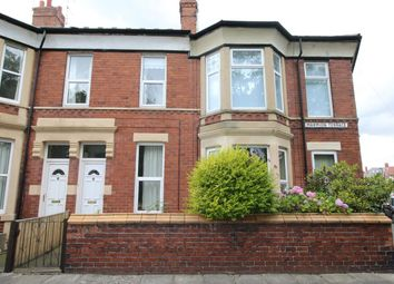 Thumbnail 3 bed flat to rent in Marmion Terrace, Whitley Bay