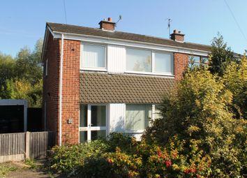 Thumbnail 3 bed semi-detached house for sale in Farm Close, Ilkeston