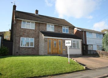 Thumbnail 4 bedroom detached house to rent in Burns Close, Headless Cross, Redditch