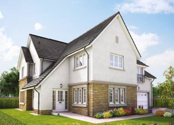 "Thumbnail 5 bed detached house for sale in ""The Lowther"" at Hillview Gardens, Nivensknowe Park, Loanhead"