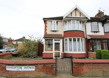 Thumbnail 3 bedroom end terrace house for sale in Ashburton Avenue, Seven Kings, Essex