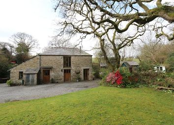 Thumbnail 3 bed barn conversion for sale in Revale Road, St Tudy, Cornwall