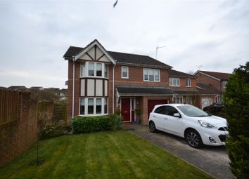 Thumbnail 4 bed detached house for sale in Heol Corswigen, Barry