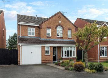 Thumbnail 4 bed detached house for sale in Mahogany Drive, Stafford