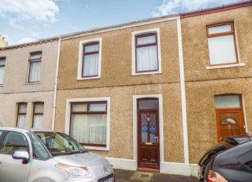 Thumbnail 3 bed terraced house for sale in Clarice Street, Port Talbot, Neath Port Talbot.