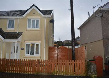 Thumbnail 3 bed semi-detached house for sale in Heol Y Graig, Aberdare, Rhondda Cynon Taff