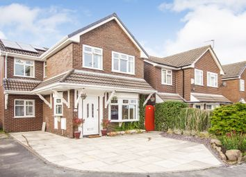 Thumbnail 4 bed detached house for sale in Thornbush Close, Lowton