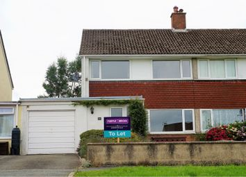 Thumbnail 4 bedroom semi-detached house to rent in St. Martins Park, Haverfordwest