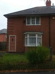 Thumbnail 1 bedroom flat for sale in Cheverton Road, Northfield, Birmingham