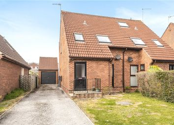Thumbnail 3 bed semi-detached house for sale in Downside Close, Blandford Forum, Dorset