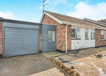 Thumbnail 2 bed semi-detached bungalow for sale in Winston Drive, South Creake, Fakenham