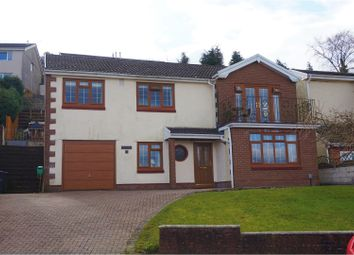 Thumbnail 4 bed detached house for sale in Ravens Court, Neath