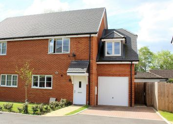 Thumbnail 3 bed semi-detached house for sale in Sovereign Gardens, Ash Vale