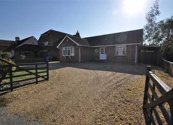 Thumbnail 4 bed detached bungalow for sale in Gloucester Drive, Wraysbury, Middlesex