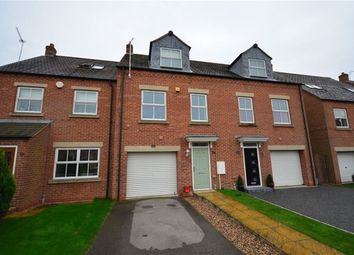 Thumbnail 3 bed town house to rent in Whitley Farm Close, Whitley, Goole