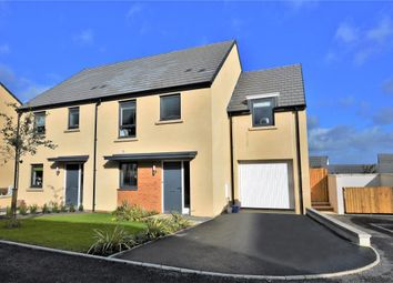 Thumbnail 4 bed detached house for sale in Meldon Fields, Okehampton, Devon