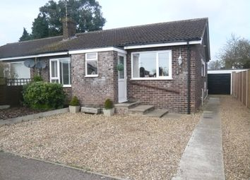 Thumbnail 3 bedroom semi-detached bungalow for sale in Emmas Way, Little Plumstead, Norwich