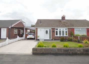 Thumbnail 2 bed semi-detached bungalow for sale in Bideford Road, Penketh, Warrington