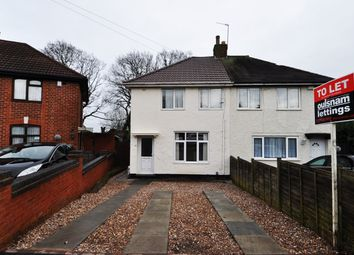 Thumbnail 3 bed semi-detached house to rent in Effingham Road, Billesley, Birmingham