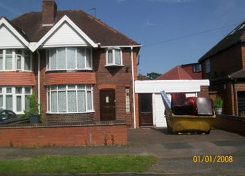 Thumbnail 3 bed semi-detached house for sale in West Avenue, Handsworth Wood