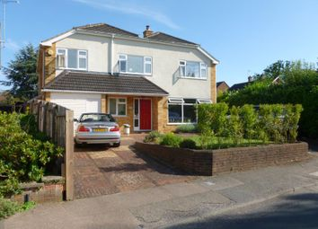 Thumbnail 4 bed detached house to rent in Merrow Woods, Guildford