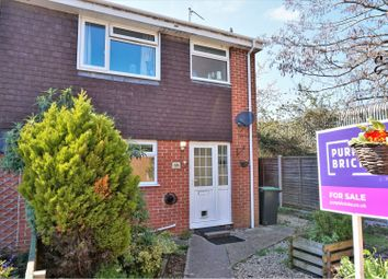 Thumbnail 3 bedroom end terrace house for sale in Rixon Close, Sturminster Newton