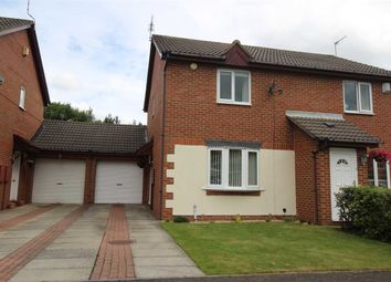 Thumbnail 2 bed semi-detached house to rent in Dearham Grove, Hartford Dale, Cramlington