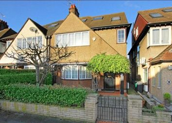 Thumbnail 6 bed semi-detached house for sale in St Georges Road, Temple Fortune, London