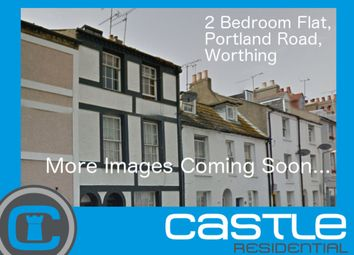 Thumbnail 2 bed flat to rent in Portland Road, Broadwater, Worthing