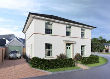 Thumbnail 4 bed detached house for sale in Lucombe Park, Uffculme, Cullompton