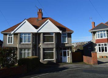 Thumbnail 3 bed semi-detached house for sale in Llwyn Arosfa, Swansea