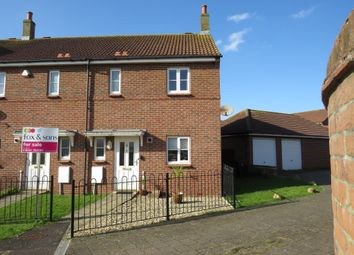 Thumbnail 3 bed end terrace house for sale in Lightermans Close, Trinity Way, Minehead
