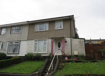 Thumbnail 3 bedroom semi-detached house for sale in Dryburgh Crescent, Ham, Plymouth