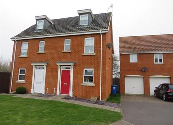 Thumbnail 3 bed property to rent in Holystone Way, Carlton Colville, Lowestoft