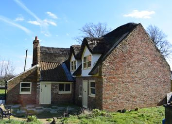 Thumbnail 4 bed cottage for sale in Sutton Crosses, Long Sutton