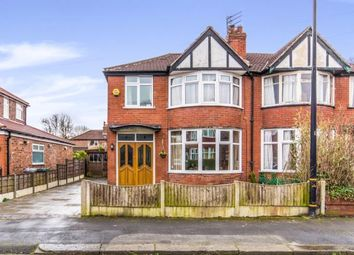 Thumbnail 3 bedroom semi-detached house for sale in Chestnut Drive, Sale, Trafford, Greater Manchester