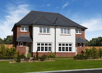 Thumbnail 3 bed semi-detached house for sale in Potters Lea, Exeter Road, Newton Abbot, Devon