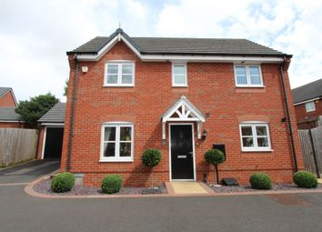 Thumbnail 3 bed detached house for sale in Atkinson Gardens, Nuthall, Nottingham
