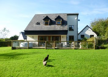 Thumbnail 4 bed detached house for sale in Rudry, Caerphilly